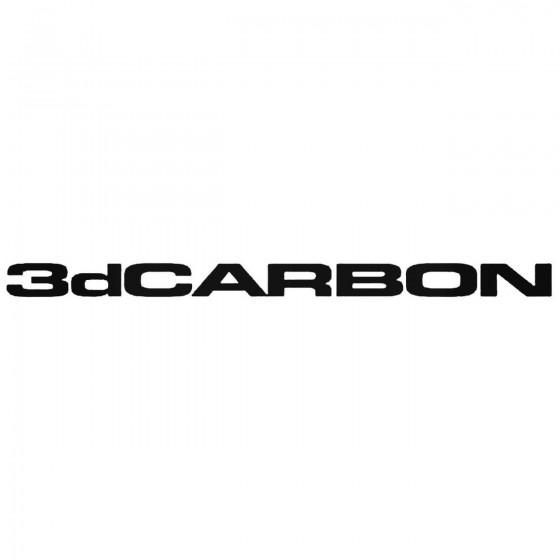 3d Carbon S Vinl Car...