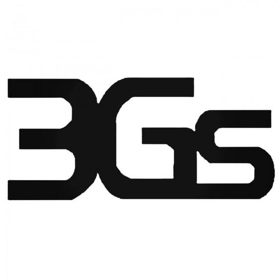 3gs Decal Sticker