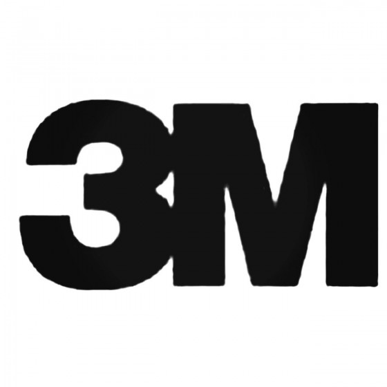 3m S Decal Sticker
