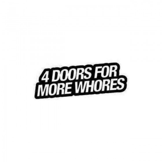 4 Doors For More Whores Jdm...