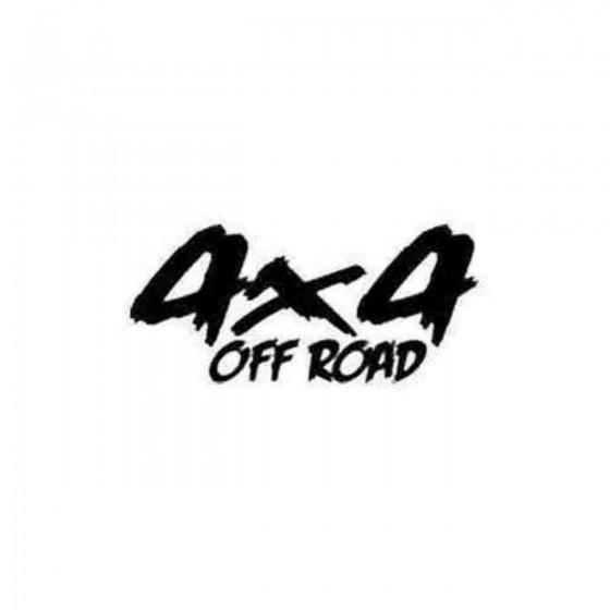4x4 9 4x4 Offroad Die Cut...