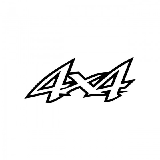 4x4 Logo Set 15 Vinyl Decal...