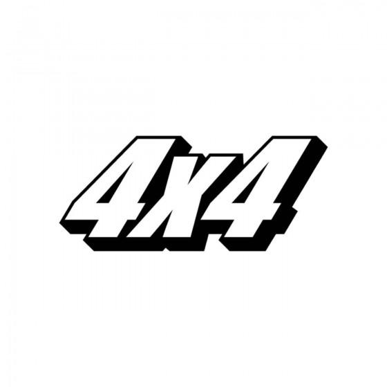 4x4 Logo Set 17 Vinyl Decal...