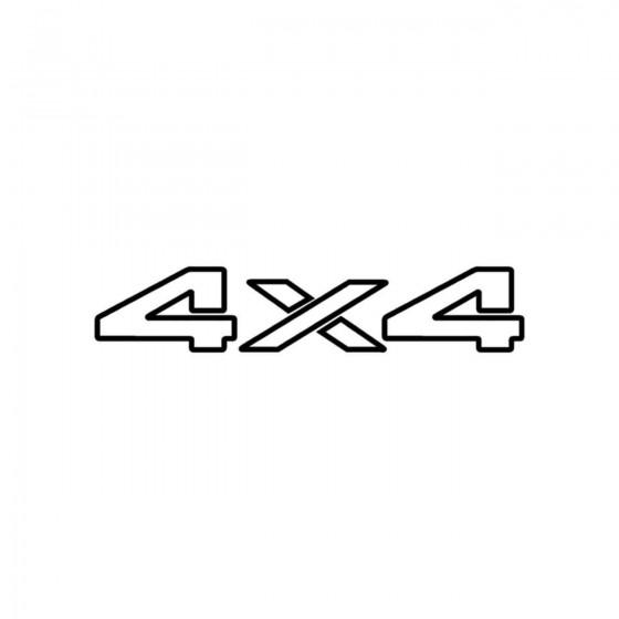 4x4 Logo Set 20 Vinyl Decal...