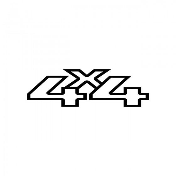 4x4 Logo Set 22 Vinyl Decal...