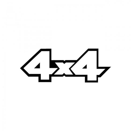 4x4 Logo Set 23 Vinyl Decal...