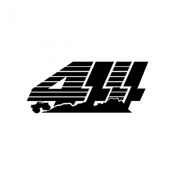 4x4 Logo Set 24 Vinyl Decal...