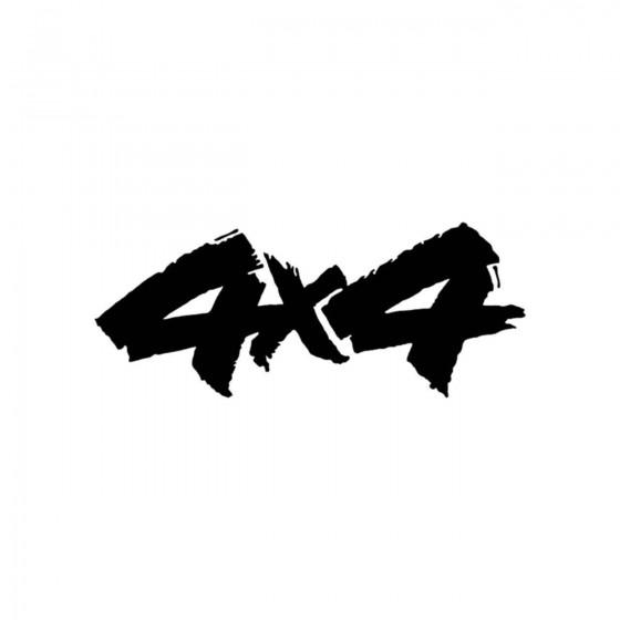 4x4 Logo Set 25 Vinyl Decal...