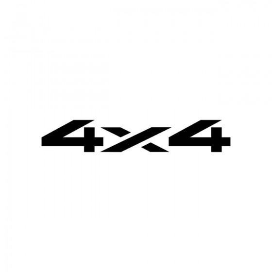4x4 Logo Set 27 Vinyl Decal...