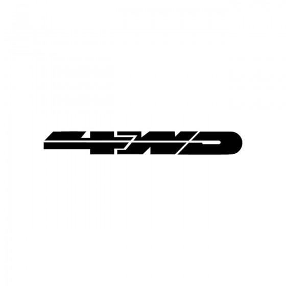 4x4 Logo Set 2 Vinyl Decal...