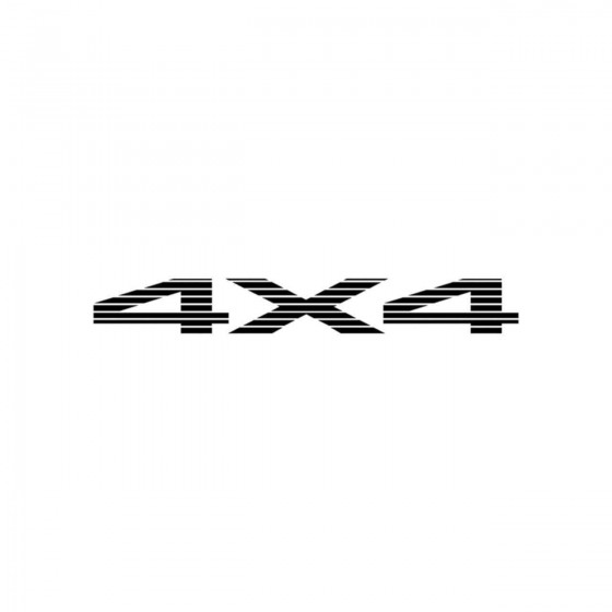 4x4 Logo Set 32 Vinyl Decal...
