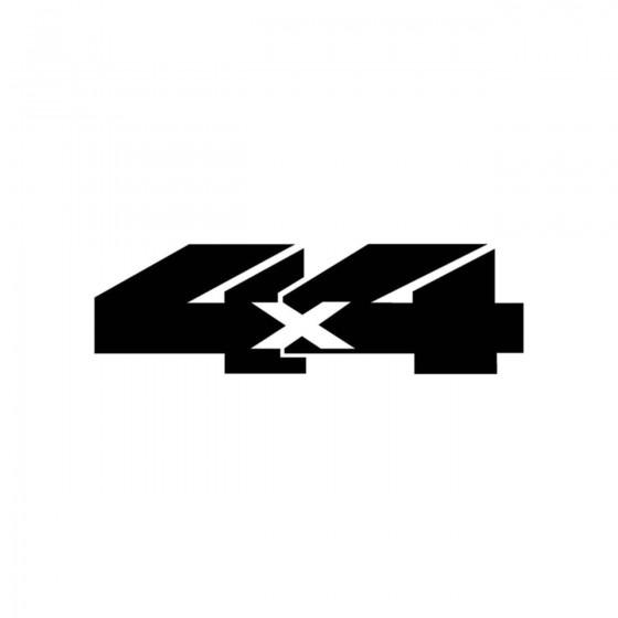 4x4 Logo Set 34 Vinyl Decal...