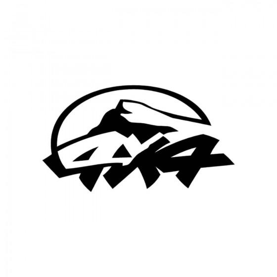 4x4 Logo Set 40 Vinyl Decal...