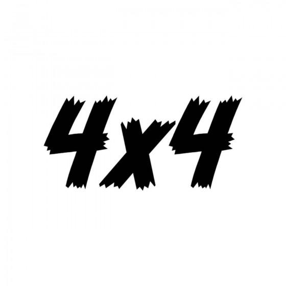 4x4 Logo Set 46 Vinyl Decal...