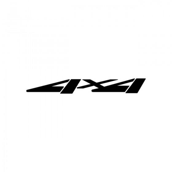 4x4 Logo Set 47 Vinyl Decal...