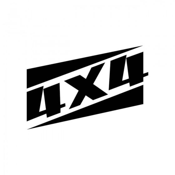 4x4 Logo Set 49 Vinyl Decal...
