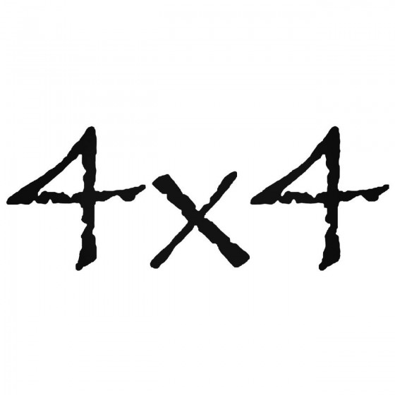 4x4 Off Road 20 Sticker