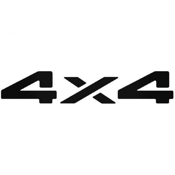 4x4 Off Road 32 Sticker