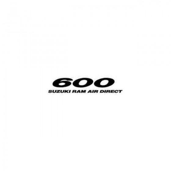 600 Ram Air Decal Sticker