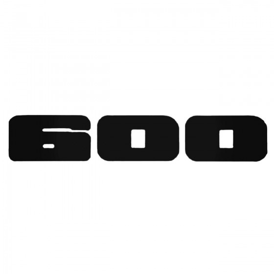 600 Style 3 Decal Sticker