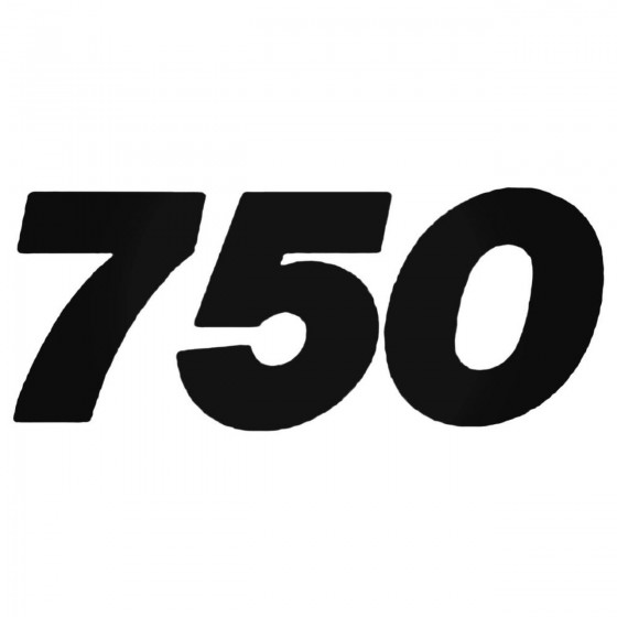 750 Style 5 Decal Sticker