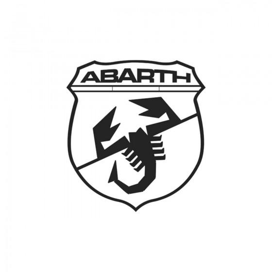 Abarth Blason Vinyl Decal...