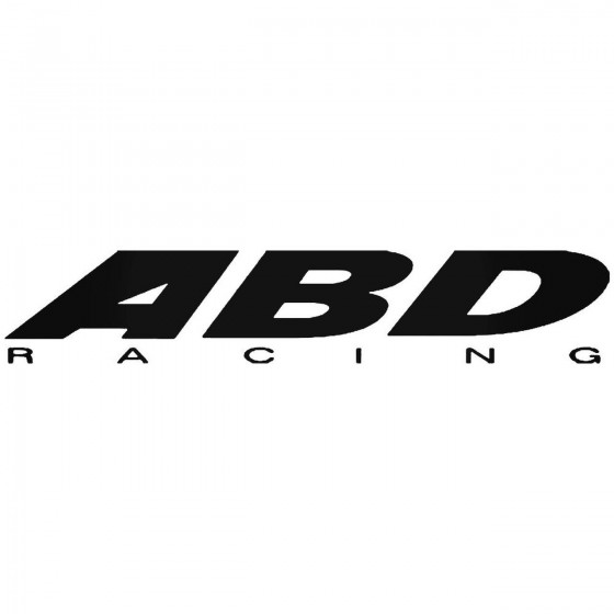 Abd Racing Sticker