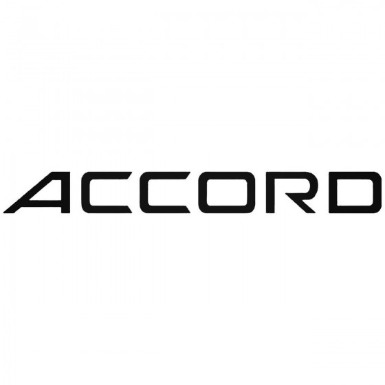 Accord Graphic Decal Sticker