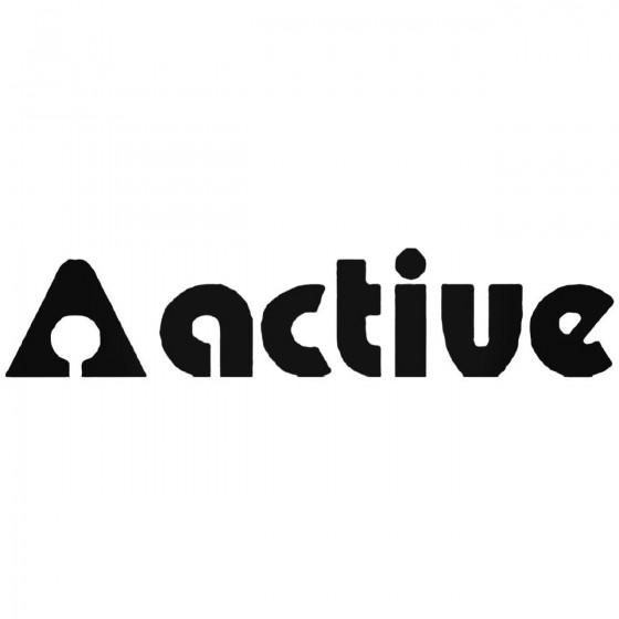 Active Decal Sticker
