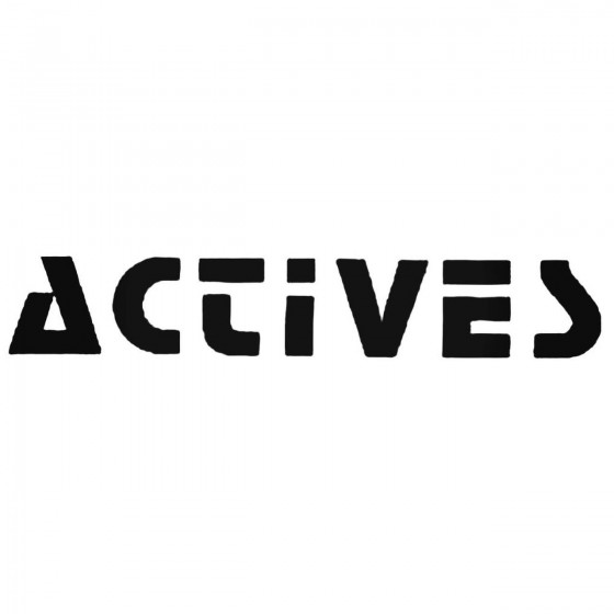 Actives Decal Sticker
