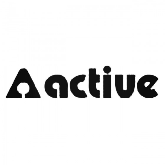 Active S Decal Sticker