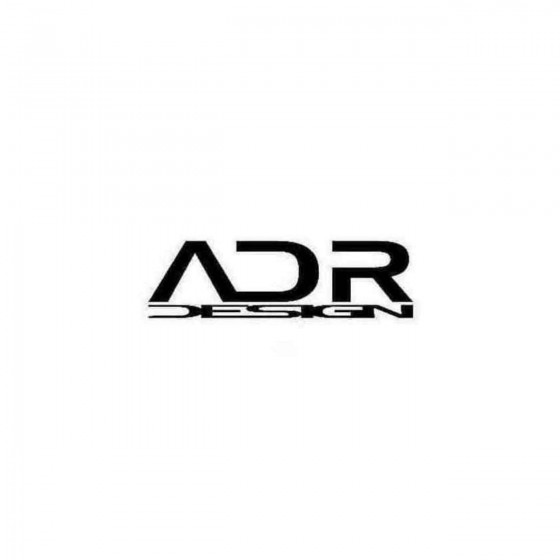 Adr Design Wheels Decal...