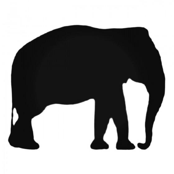 Adult Elephant Decal Sticker
