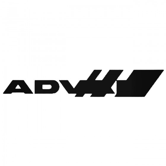 Advan 02 Decal Sticker