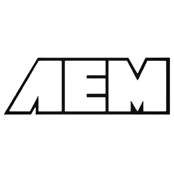 Aem 01 Decal Sticker
