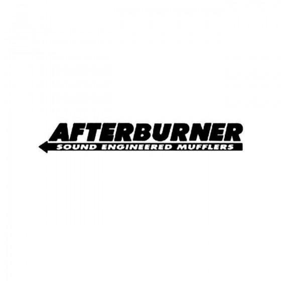 Afterburner Sticker
