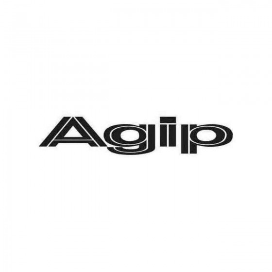 Agip 2 Graphic Decal Sticker