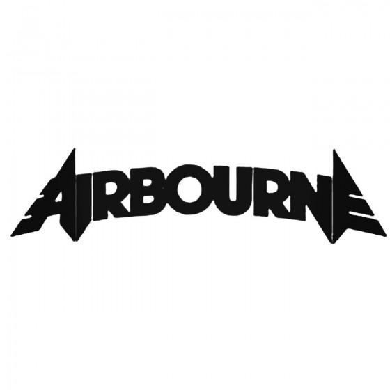 Airbourne Decal Sticker