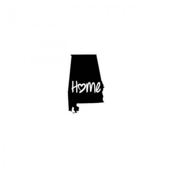 Alabama Home Style 2 Decal...