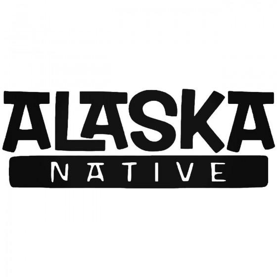 Alaska Native Sticker