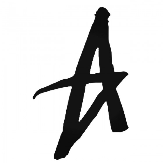 Altamont A Decal Sticker