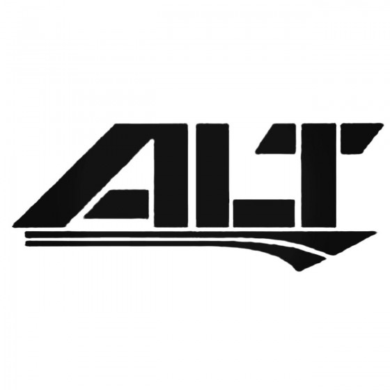Alt S Decal Sticker