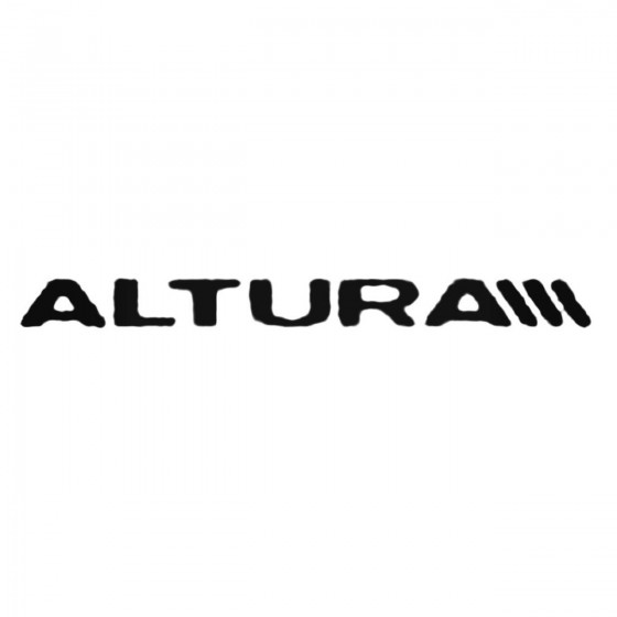 Altura Decal Sticker