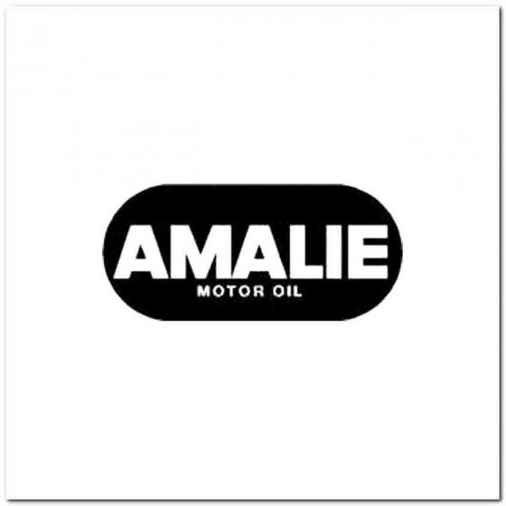 Amalie Motor Oil Decal Sticker