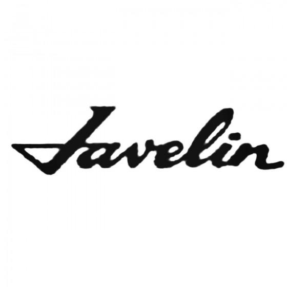 Amc Javelin S Decal Sticker