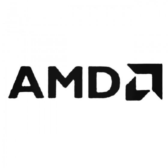 Amd S Decal Sticker