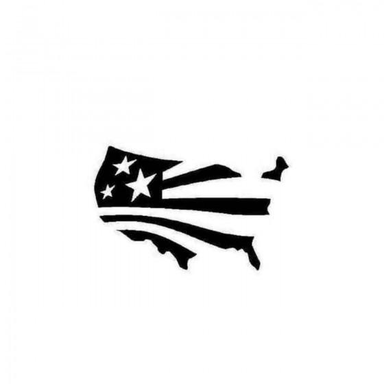 America American Flag Decal...