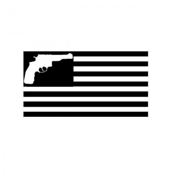American Flag Gun Vinyl...