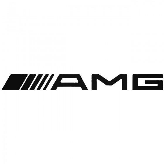 Amg Vinyl Decal