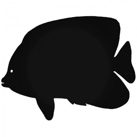 Angelfish Fish 1 Sticker